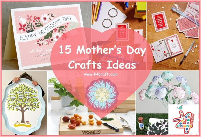 Mother's Day Crafts Ideas That She'll Treasure mother ideas