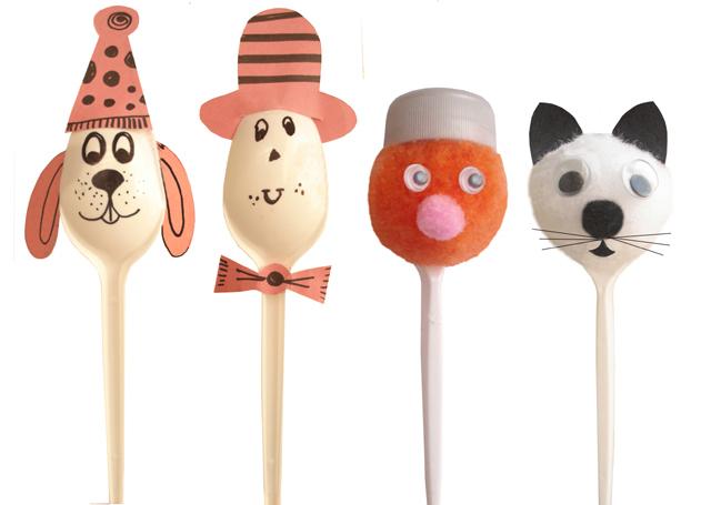 Plastic Spoon: Puppets
