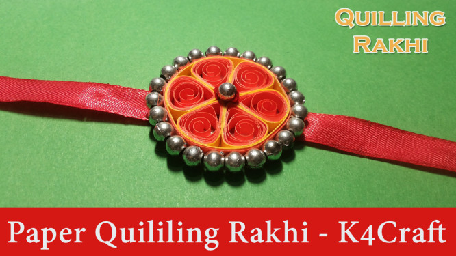 how-to-make-quilling-red-rakhi