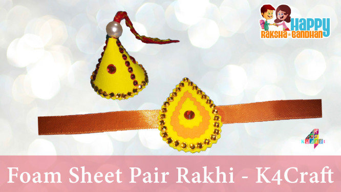 how-to-make-thumbnil-foam-sheet-rakhi-images