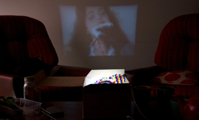 home made projector