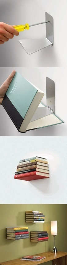 use-bookends-as-floating-bookshelves