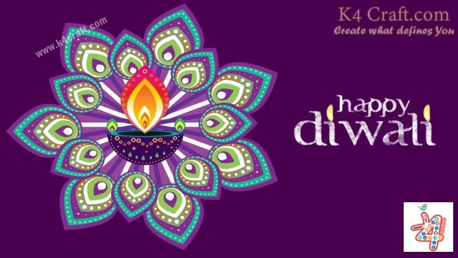 Diwali-rangoli-design-Step-by-Step-k4craft