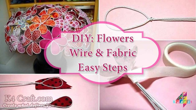 flowers-from-wire-and-fabric-with-your-hands