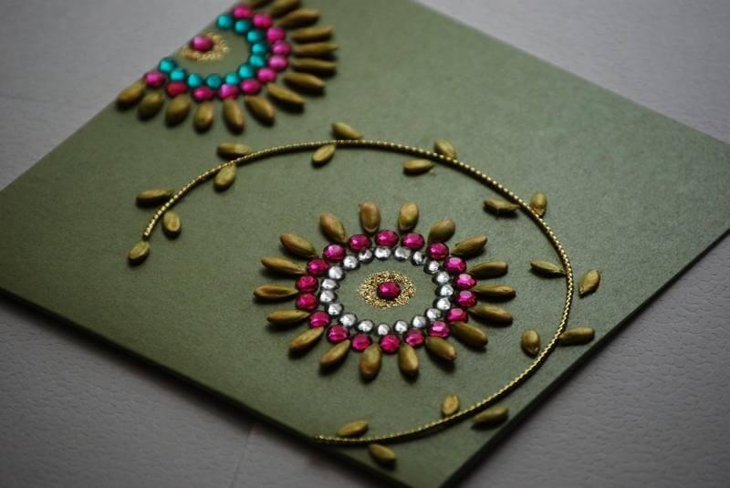 Card Making Ideas For Janmashtami Part - 50: Diwali Card Ideas