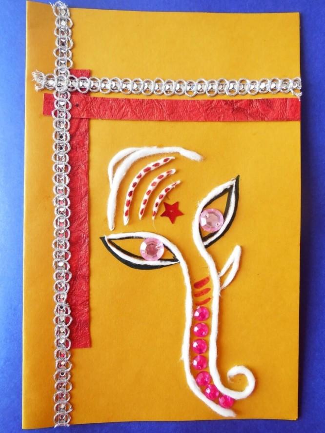 Card Decoration For Diwali | Decoratingspecial.com