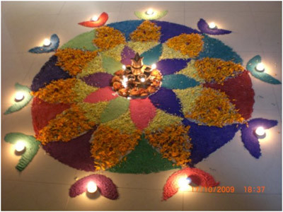 diwali-rangoli-with-diya