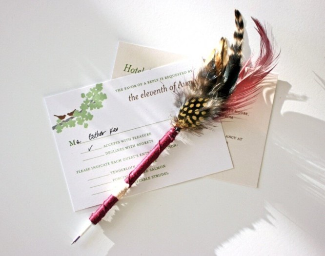 Diy how to make pen quill feather pens k4 craft for Synthetic feathers for crafts