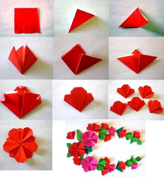 DIY Easy Flower Making Step By Tutorial