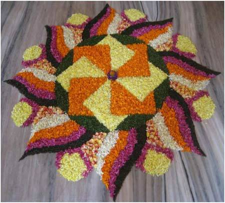 geometric-shaped-rangoli