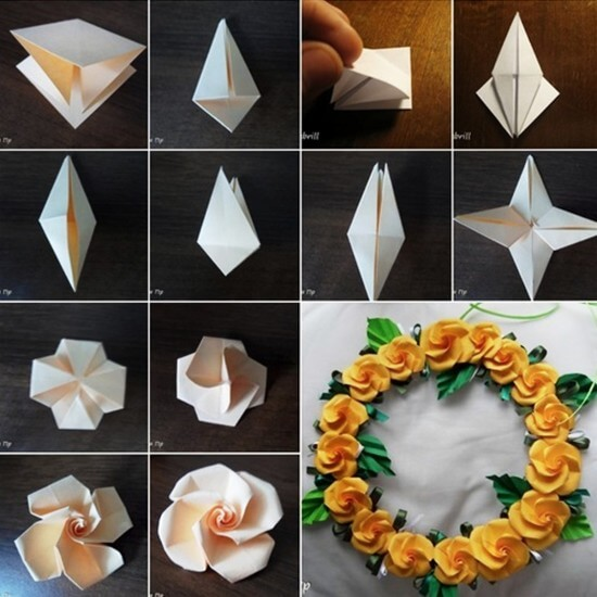 Diy origami flowers step by step tutorials k4 craft origami flower step by step turorial 1 mightylinksfo