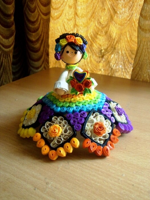 Quilling Dolls Ideas To Make You Live Your Childhood Again