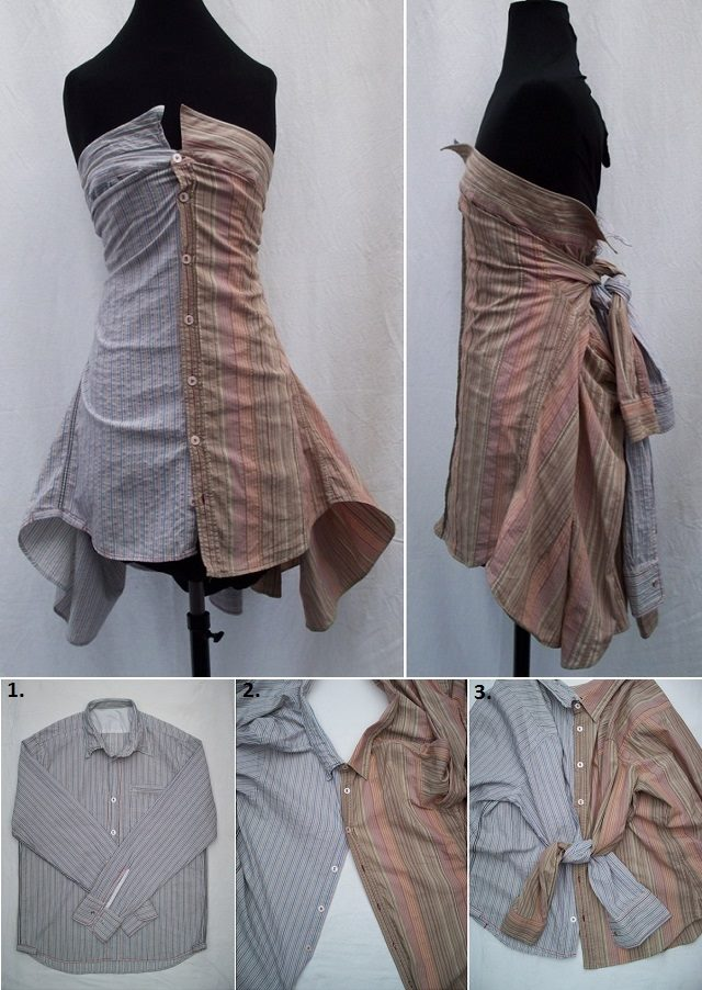 20 Simple No Sew DIY Clothing Hacks, Designs And Tutorial ...