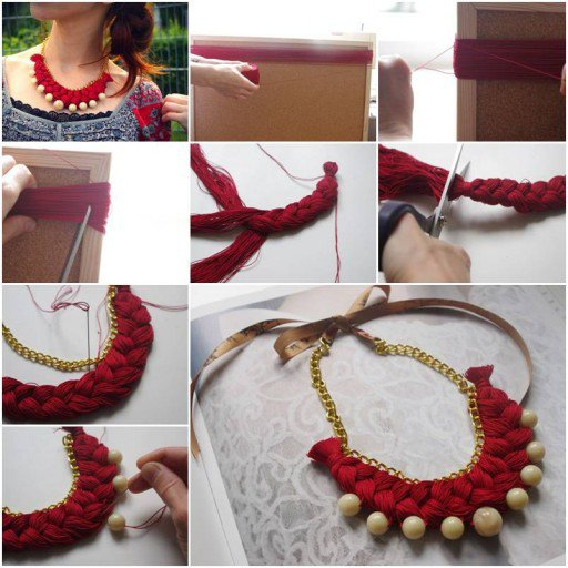 DIY-Braided-Gold-Pearl-Necklace