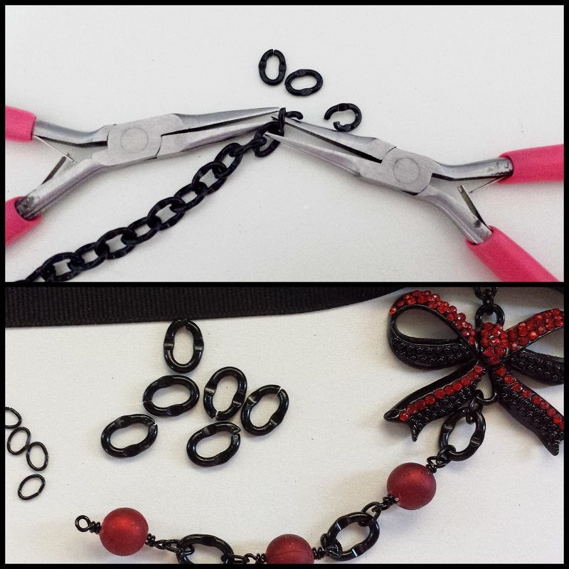 DIY-Choker-necklace-tutorial-steps