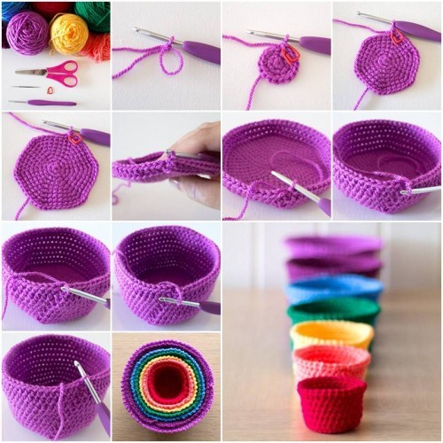 DIY Crochet Pattern Bowl