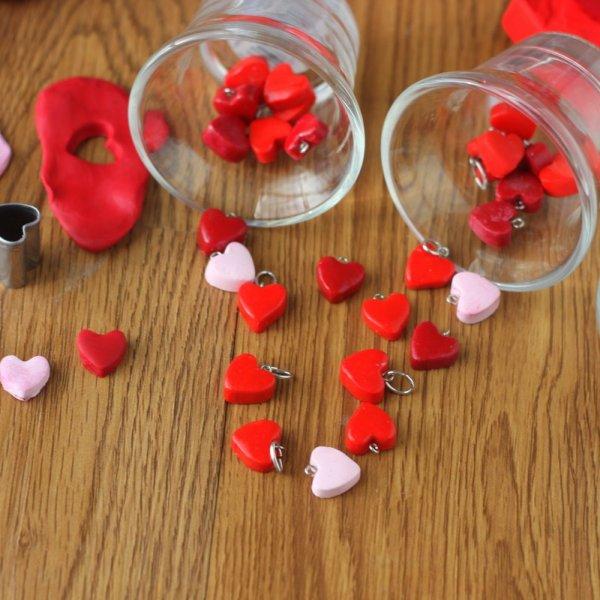 DIY Heart Charms