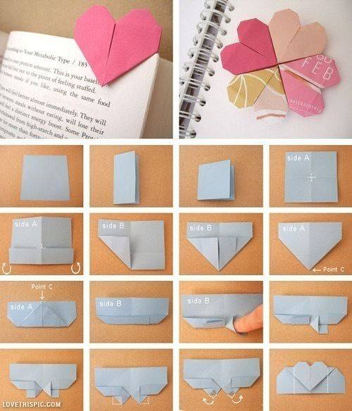Origami Paper Bookmark- Craft Tutorial Beautiful & Simple DIY Home Decoration Step by Step Tutorials