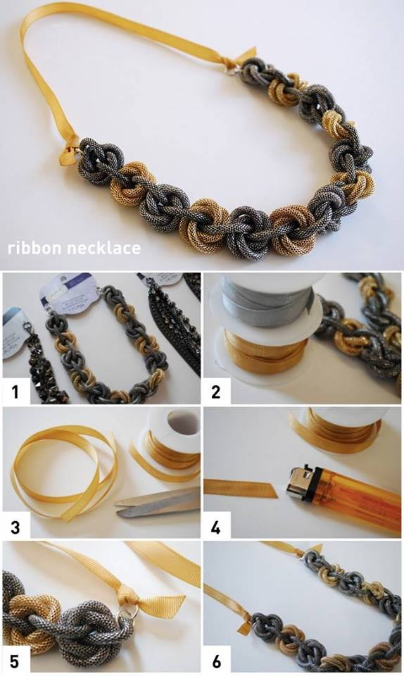 DIY-Necklace-Use-Grograin-Ribbon-For-Necklace-Backs