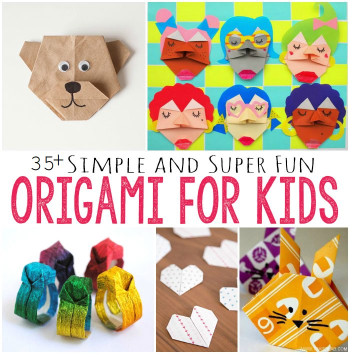 35 DIY Easy Origami Paper Craft Tutorials Step By