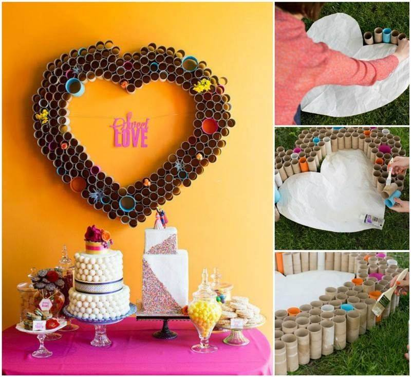 DIY : Heart Shaped Crafts Step by Step Tutorial