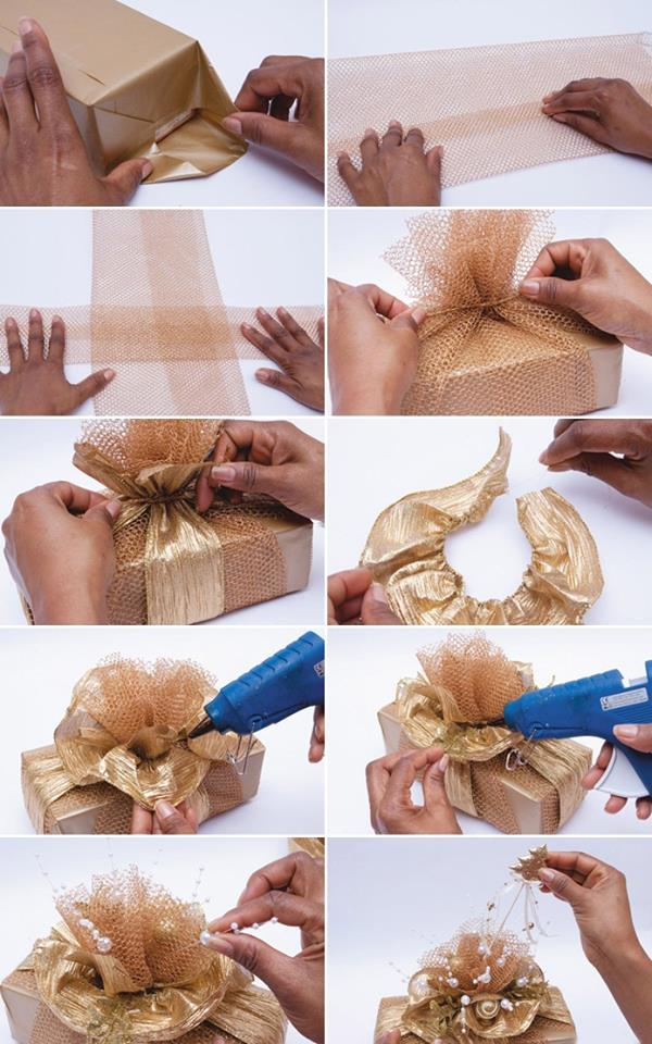 DIY : Simple Step by Step Gift Wrapping Tutorials