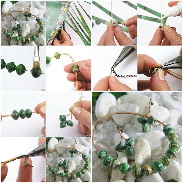 Simple and Easy Jewellery Step by Step Tutorial - K4 Craft
