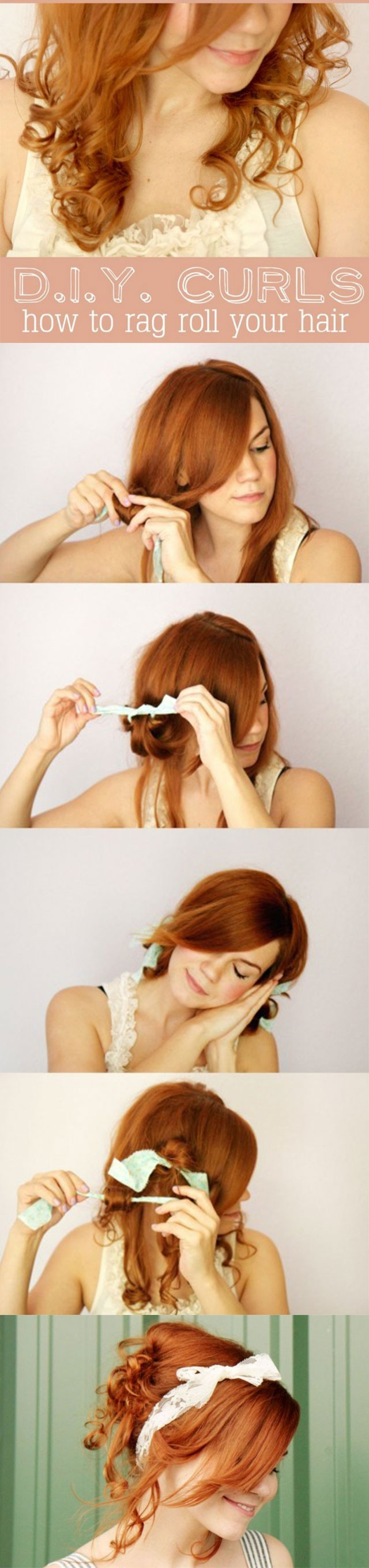 Cute-Holiday-Hairstyles-How-to-Rag-Roll-your-Hair