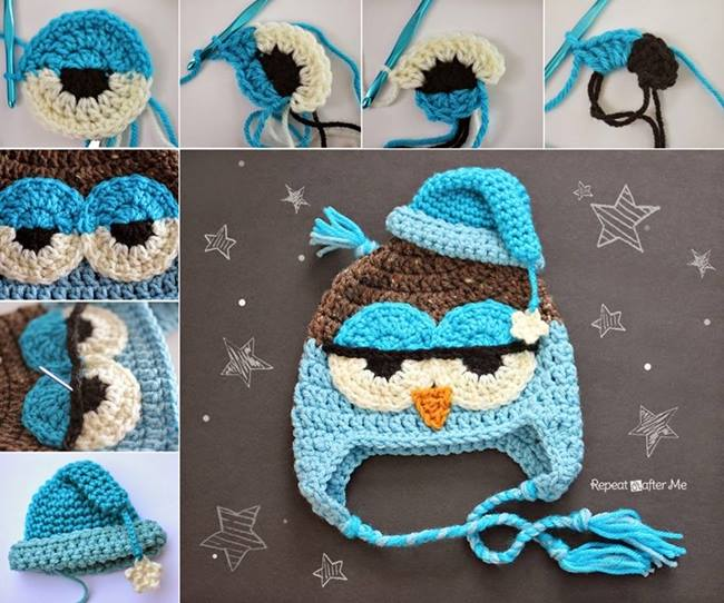 diy-cute-crochet-owl-hat-pattern