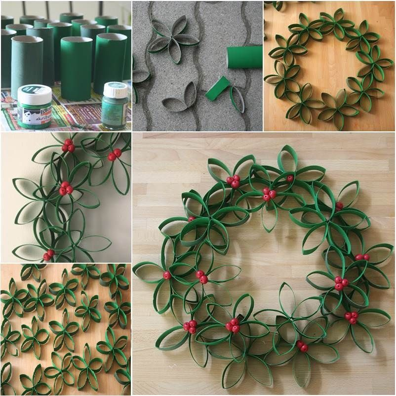 diy-paper-roll-wreath-tutorial