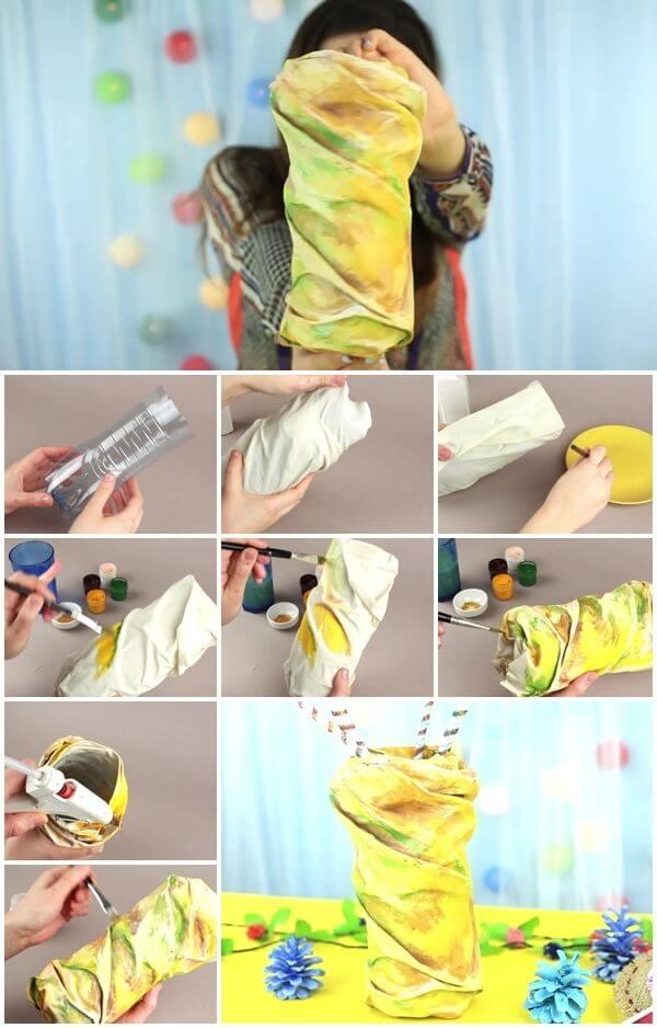 how-to-easily-make-a-plastic-bottle-vase