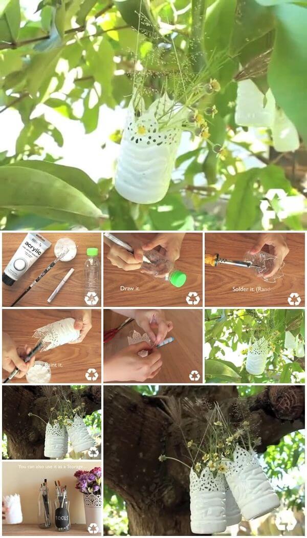 how-to-make-easy-plastic-bottle-vase