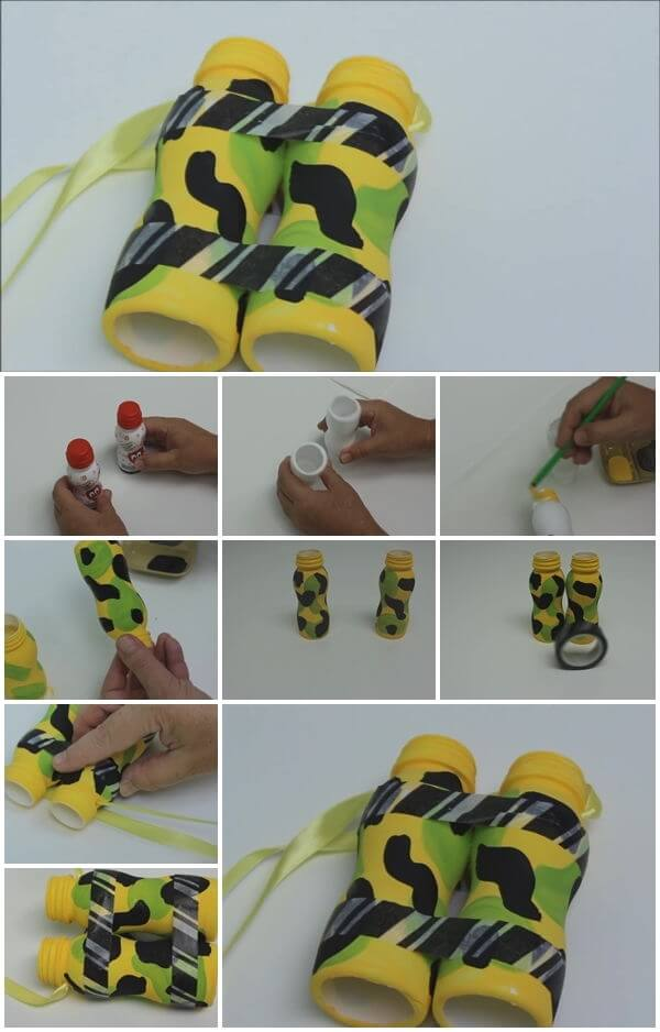 how-to-make-plastic-bottle-binocular