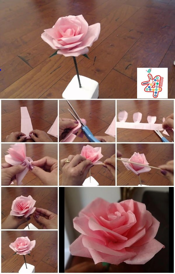 How-to-Make-Tissue-Paper-Rose-Flower-k4craft