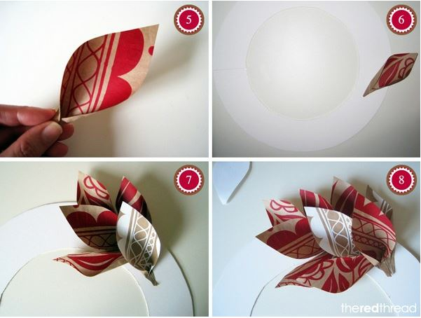 paper-christmas-wreath-tutorial-2