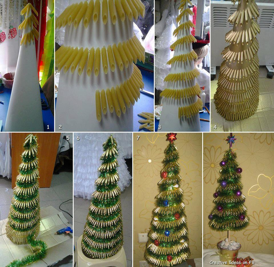 pasta-christmas-tree