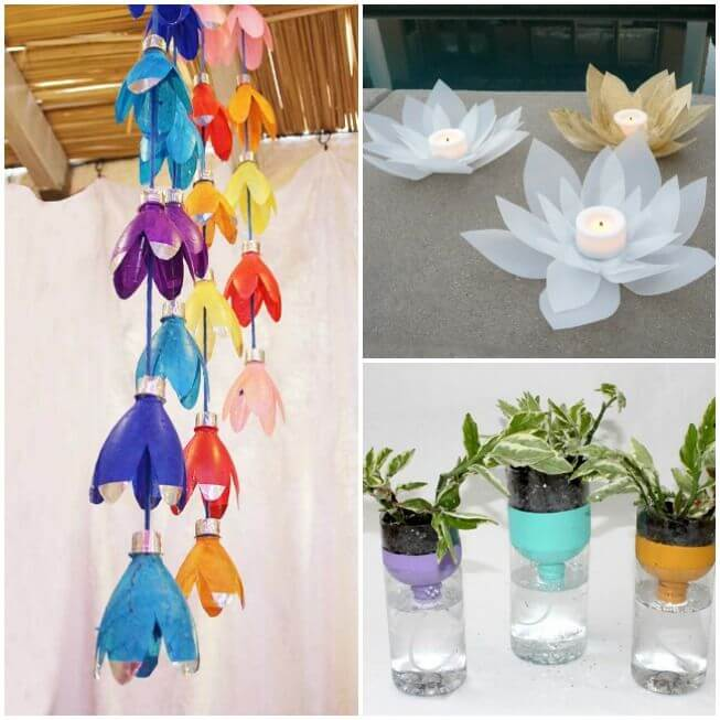 Plastic-Bottle-decoration-DIY-Projects