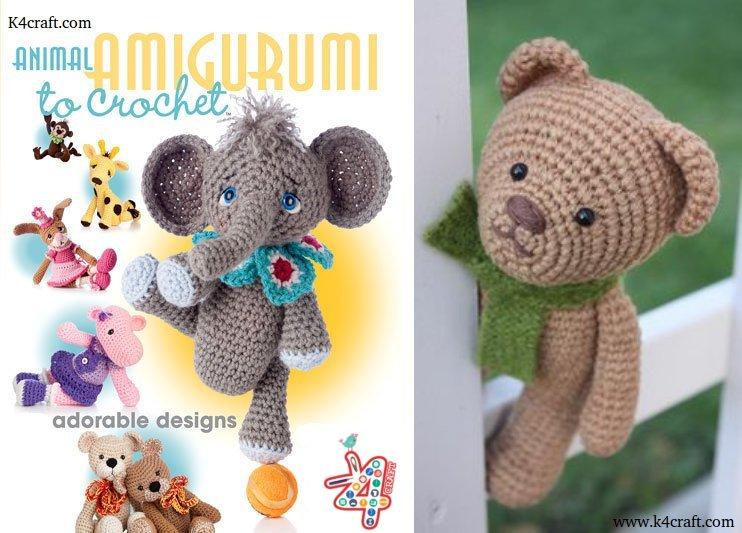 Step by step Crochet Amigurumi Patterns Animals - K4 Craft
