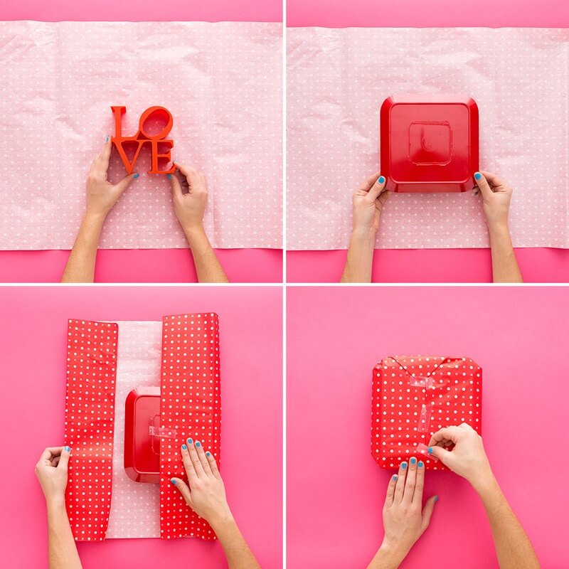 Genius Tricks for Gift Wrapping - Step by step Ideas - K4 ...