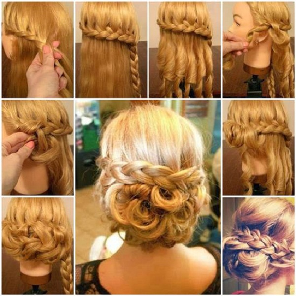 Hair Styling For Girls Step By Step bride