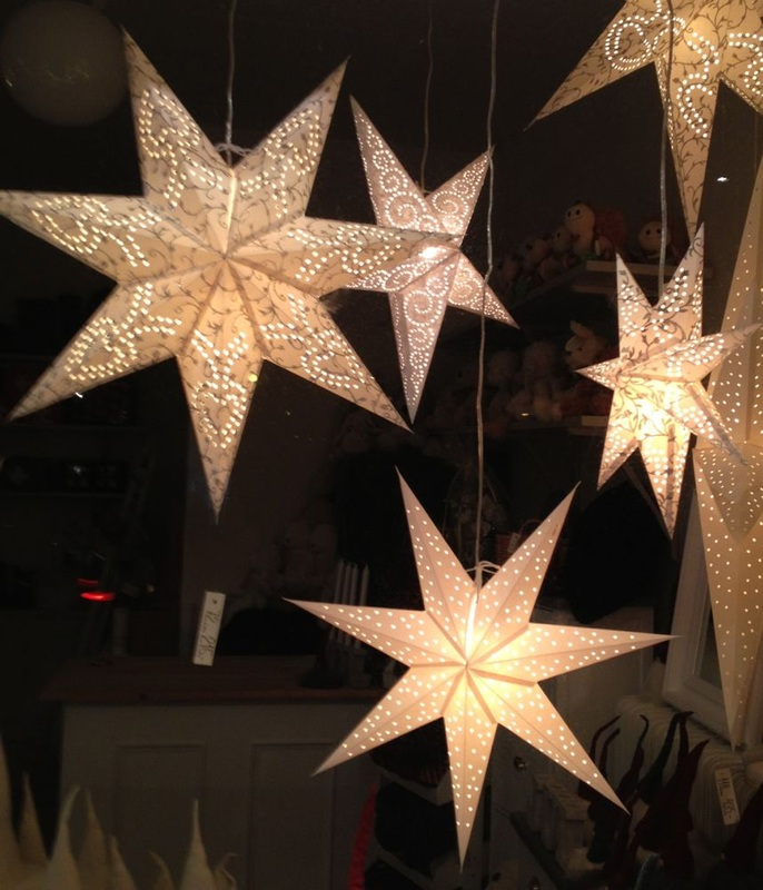 Diy learn to make christmas paper star lights for tree for 6 star window christmas decoration lights