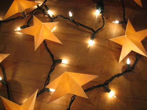 christmaslightscraftsstarsspacediy