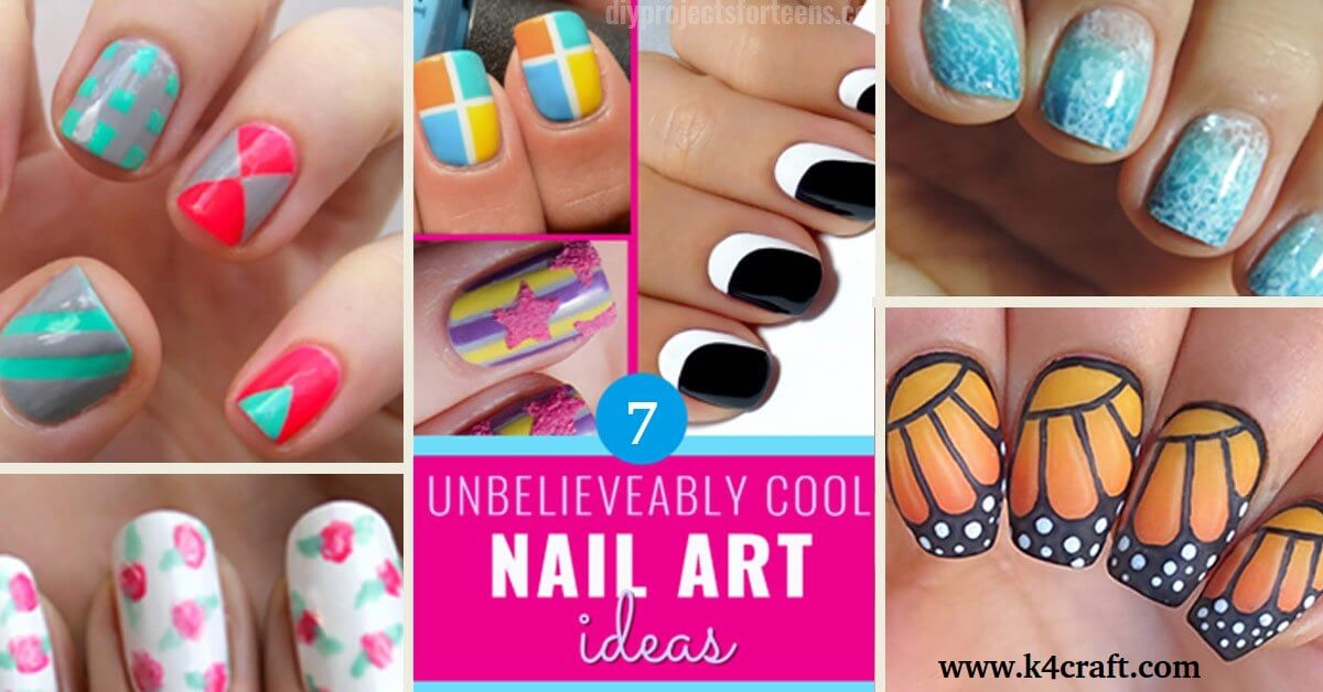 Simple And Easy Nail Art Tutorial