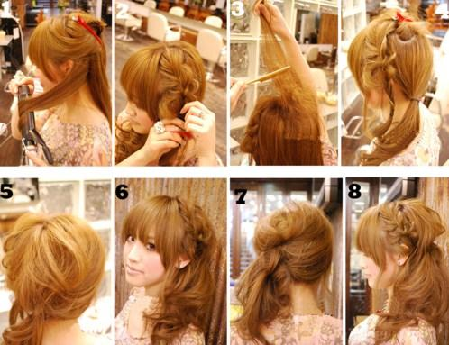 Hair Styling For Girls Step By Step