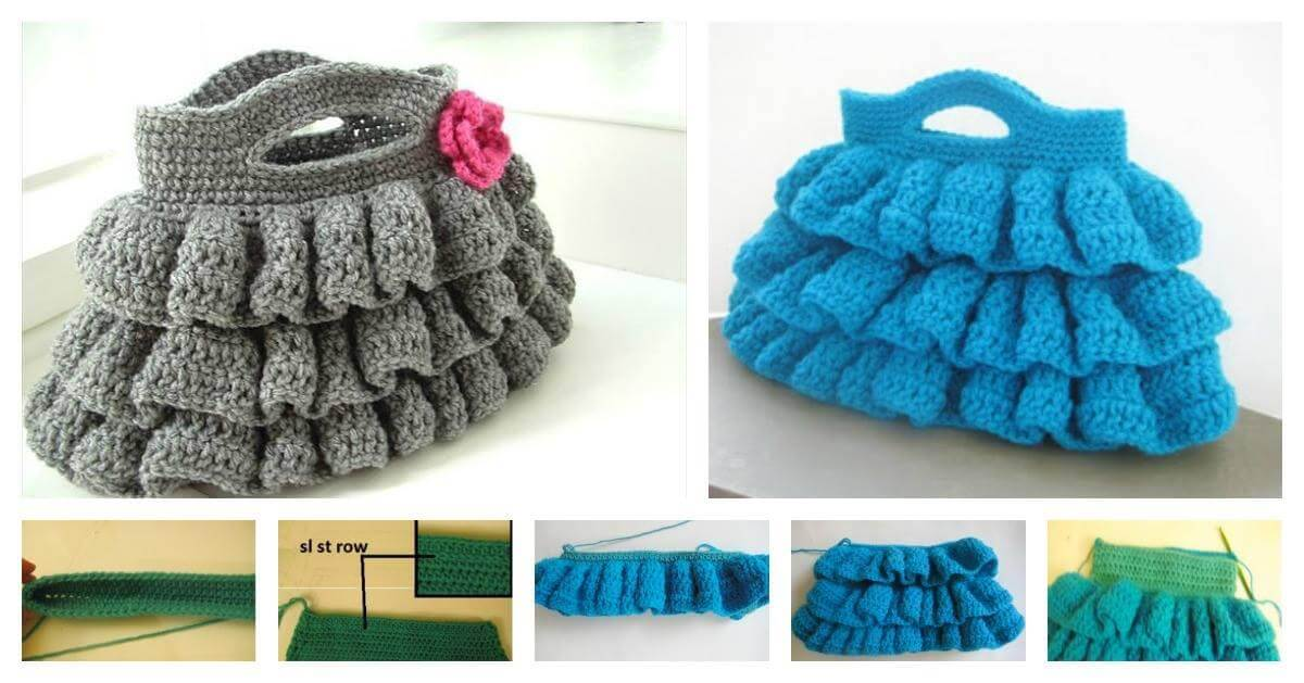 Crochet-Bella-Ruffled-Bag-Step-by-Step-Instructions
