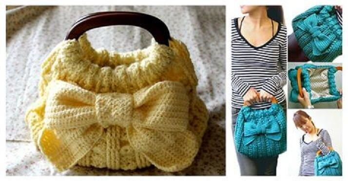 DIY-Crochet-Ribbon-Accent-Bag-Tutorial