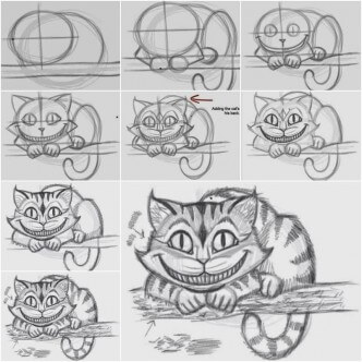 How-to-Draw-the-Cheshire-Cat