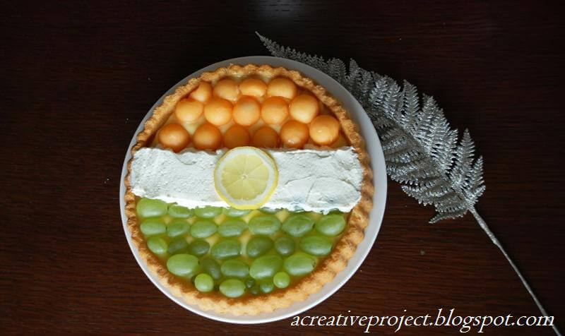 India Tri Color fruit decoration