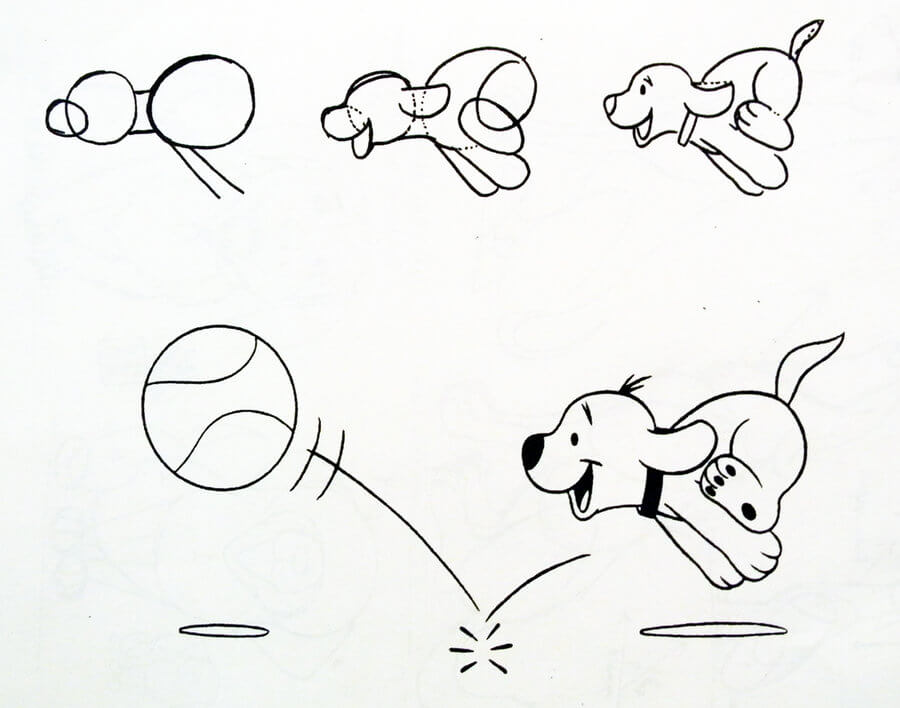 Learn to Draw dog (puppy)