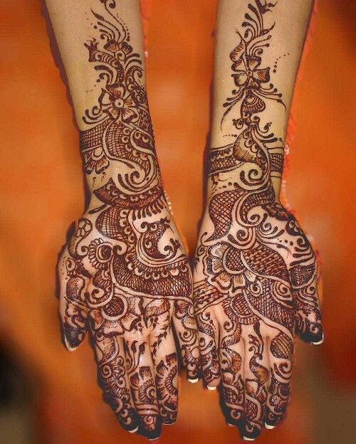 Mehndi New 2017 : Beautiful arabic mehndi latest designs